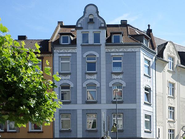 Dortmund Nordstadt klassische Fassade Mehrfamilienhaus verkauft
